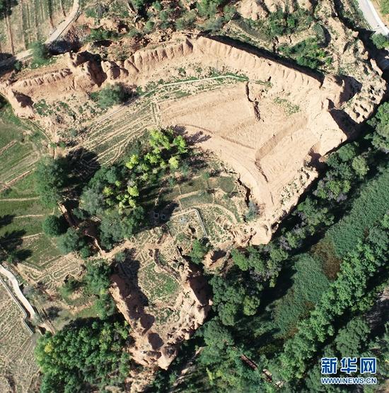 青海化隆发现多处地址遗迹