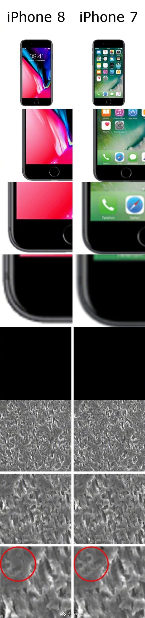 囧哥午间版:外网专业评测测出的ip7和ip8最大不同...图片