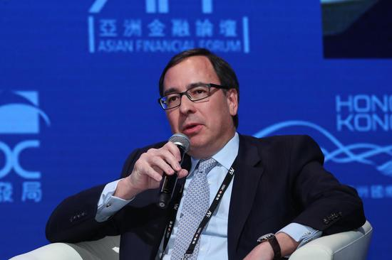 图为缅甸国务司政高级法务秘书Robert San Pé