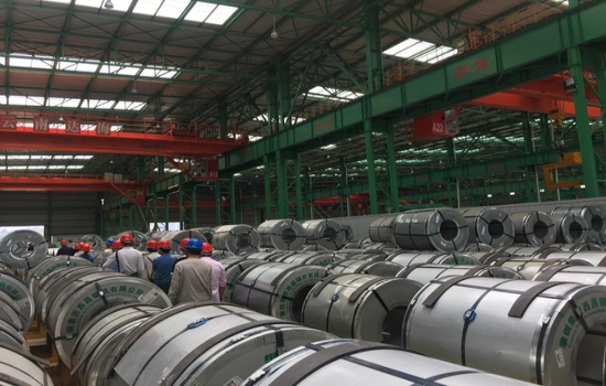 云南最大钢材物流园8月8日在安宁开园