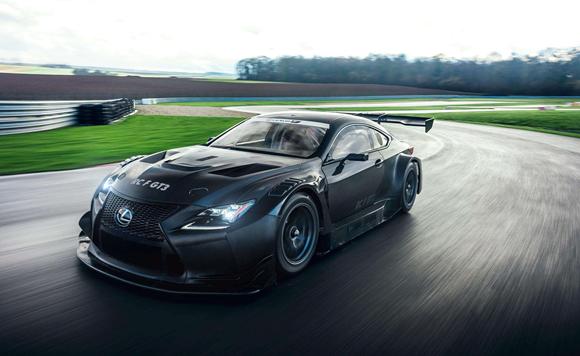 天生赛道狂魔 雷克萨斯RC F GT3