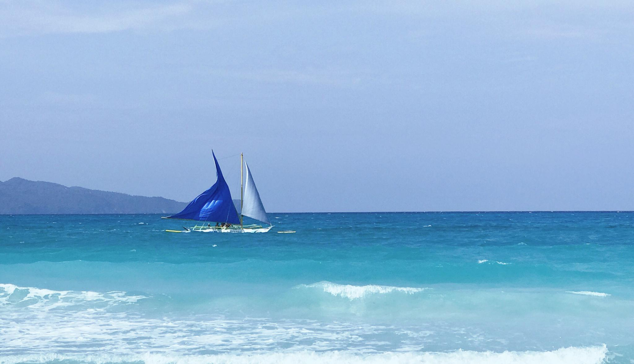 长滩岛·海岛游记 在菲律宾拥有整个夏天