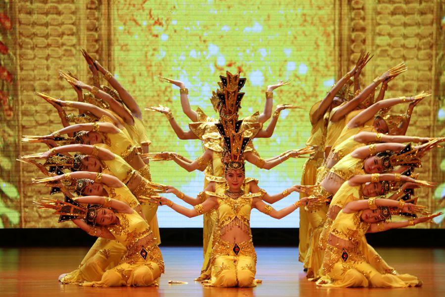 北京恒爱艺术团保山励志演出:舞蹈《千手观音》 聋人舞蹈队