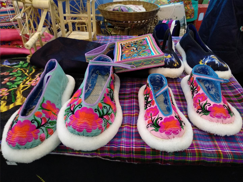 纯手工布鞋