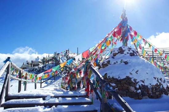 赏雪、观鸟、听钟……冬季香格里拉有你未曾见过的光景