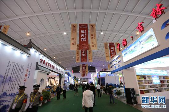 图为第5届中国—南亚博览会暨第25届中国昆明进出口商品交易会。(新华网发)