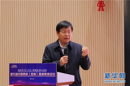 康新江通过河北衡水中学的教学实践分享教学经验。