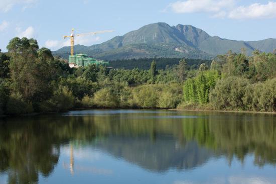 图丨昆明西麓·温泉山谷实景