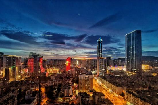 图丨昆明北市区实景