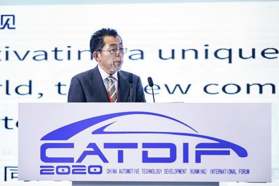 丰田汽车(中国)投资有限公司高级技术官汤田修事