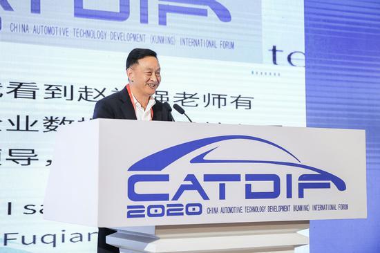 泛亚汽车技术中心有限公司执行副总经理 刘启明
