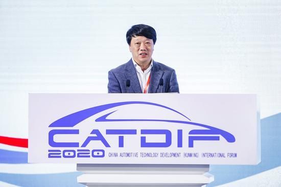 中国汽车报社社长辛宁