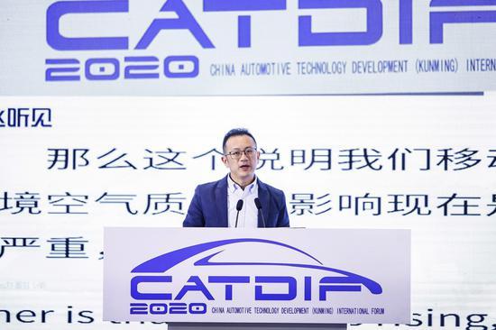生态环境部机动车排污监控中心副主任尹航