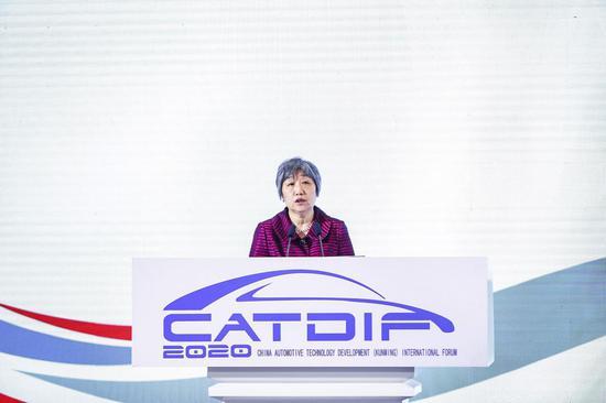 中国汽车工程学会专务秘书长张宁