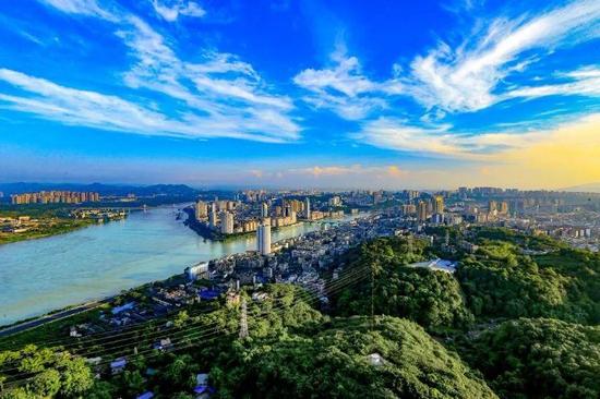 四川瀘州(供圖)