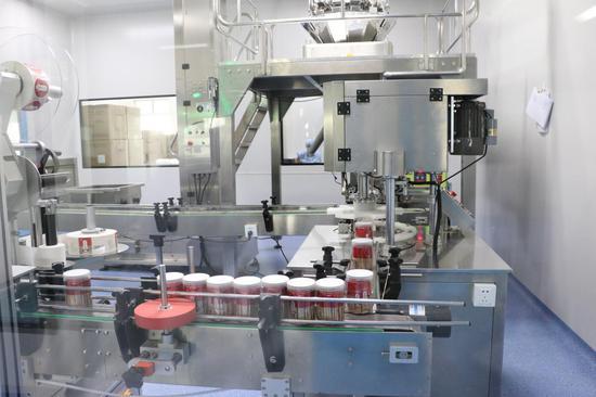 石斛产品生产线