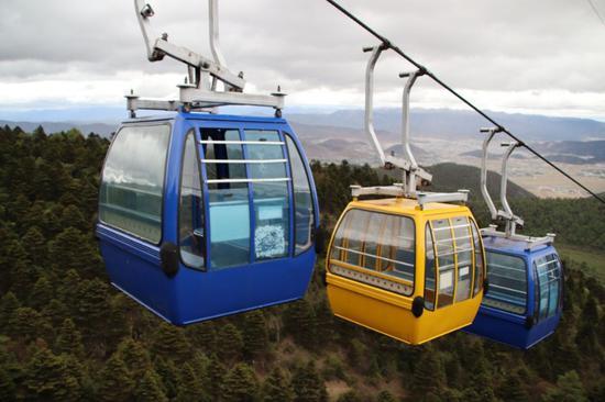 香格里拉蓝月山谷景区闭园提升改造