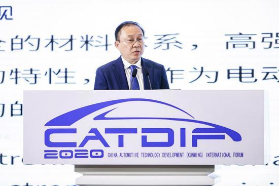 比亚迪股份有限公司高级副总裁兼汽车工程研究院院长 廉玉波