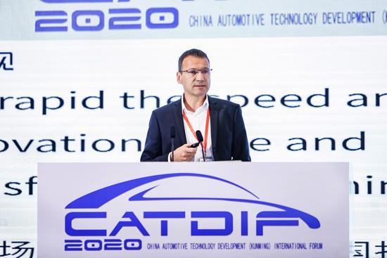 宝马中国研发中心整车开发部副总裁Stefan Kalke