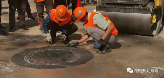 昆明已整治病害井盖6万余起,城市主干道安全隐患基本排除