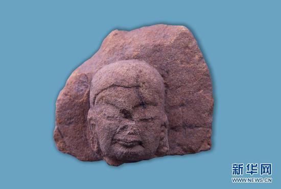 这是出土的佛像。(云南省文物考古研究所供图)