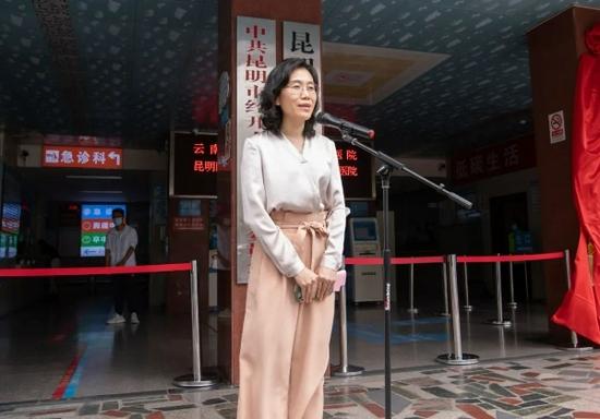 北京大学肿瘤医院副院长邢沫致辞