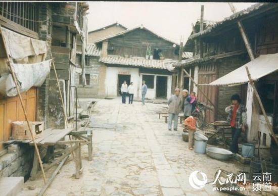上世纪80年代的居住区