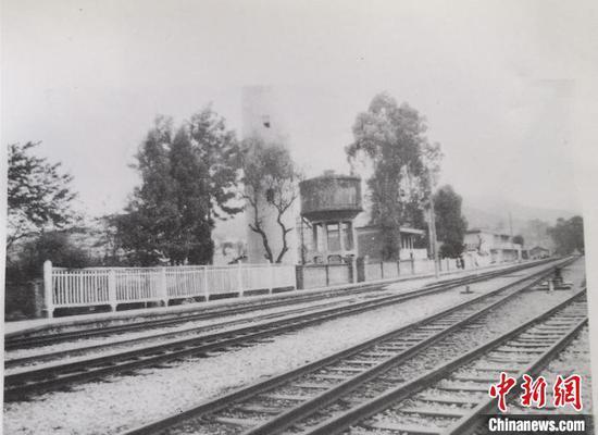 图为1929年可保村车站党支部旧址(资料图)。 杨益忠供图