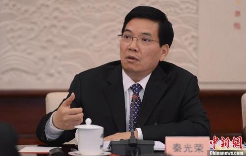 资料图:云南省委原书记秦光荣。中新社发 廖攀 摄