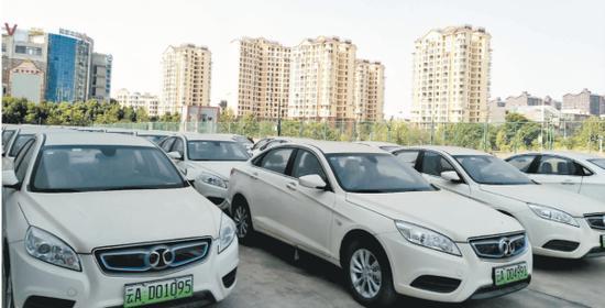 昆明综保区内新能源汽车