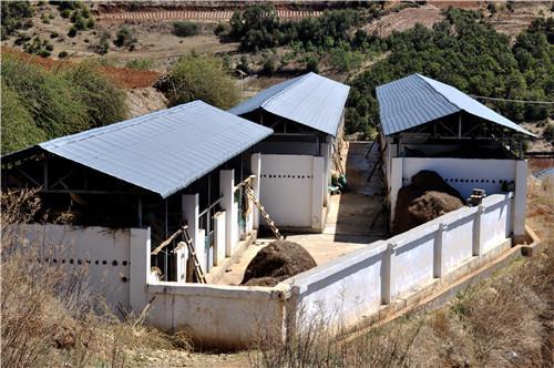 集中牲畜棚