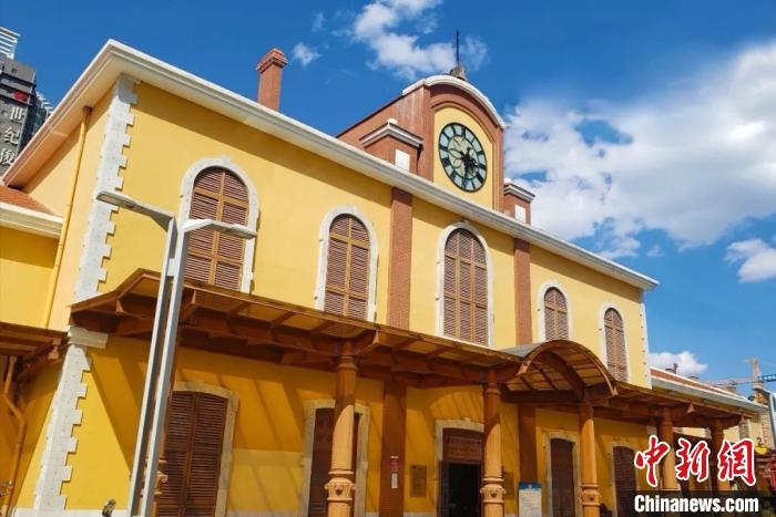 图为云南铁路博物馆。云南铁路博物馆供图