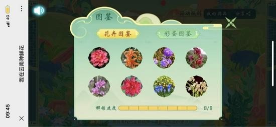 """""""我在云南种鲜花""""H5截图"""
