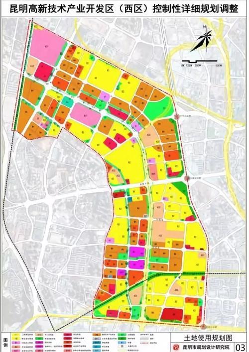 高新区最新规划图