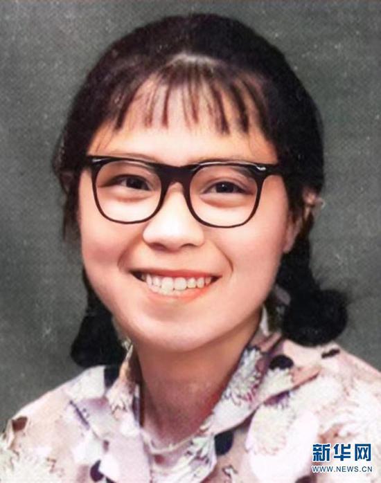 17岁的张桂梅(资料图)。新华网发(华坪县融媒体中心 供图)