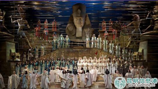 歌剧巨作《阿依达》场景