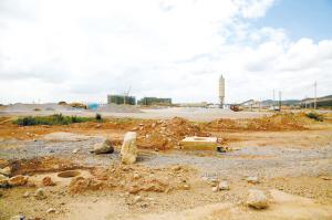 倪家营水质净化厂建设前。