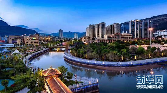 丽江鲤鱼河水利风景区