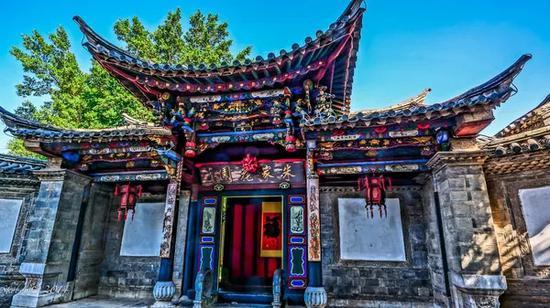 """被誉为""""云南楼兰古城""""的团山传统民居建筑群;"""
