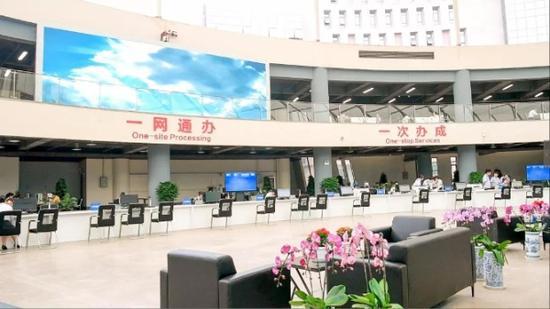 云南自由贸易试验区昆明片区综合服务中心