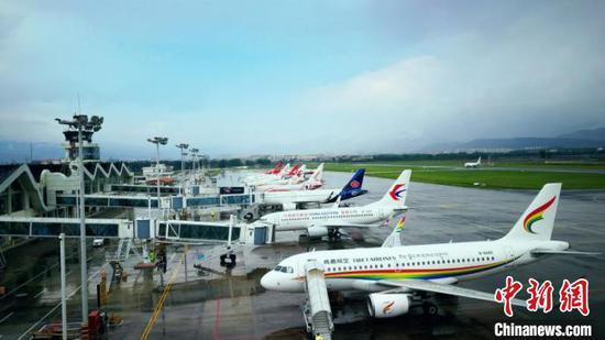 图为云南某机场。云南航空产业投资集团供图