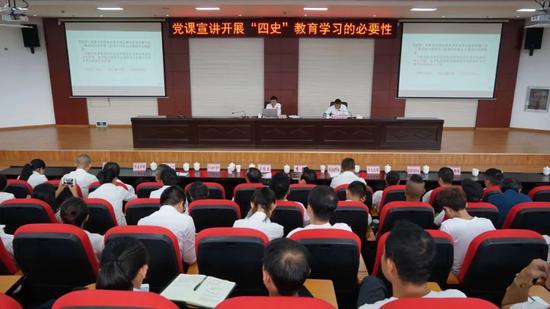 """临沧市文化旅游局""""六进六有"""" 促进党史学习教育抓实落地"""
