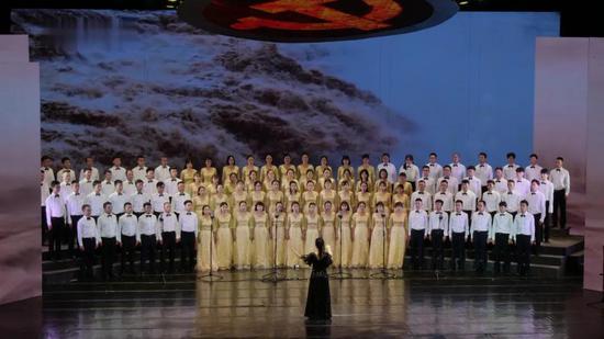 第一乐章之临沧市第一中学代表队 《保卫黄河》