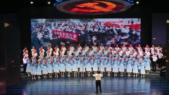 第三乐章之临沧市卫生健康委代表队《中国抗疫战歌》