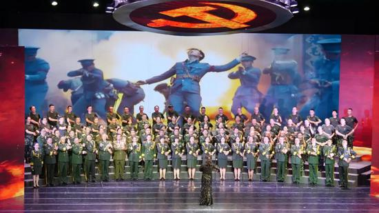 第二乐章之临沧市退役军人事务局代表队 《中国军魂》