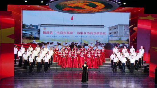 第四乐章之临沧市政协机关代表队 《国家》