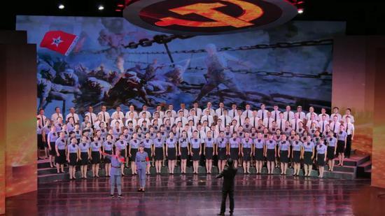第一乐章之临沧市委机关联队 《四渡赤水出奇兵》