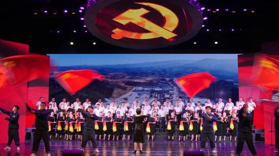 第三乐章之临沧市工业园区联队 《伟大的中国共产党》