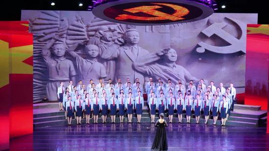 第二乐章之国家税务总局临沧市税务局代表队 《祖国不会忘记》