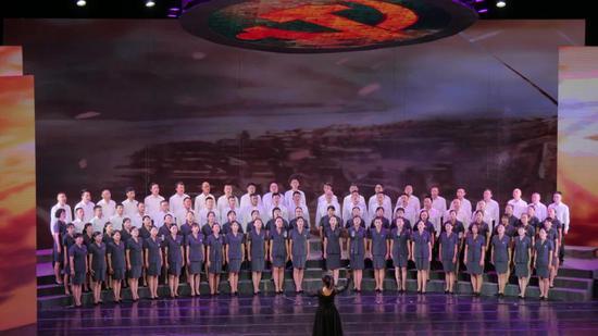 第一乐章之临沧市中级人民法院代表队 《在太行山上》